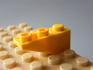 LEGO 4287 Yellow Slope, Inverted 33 3 x 1