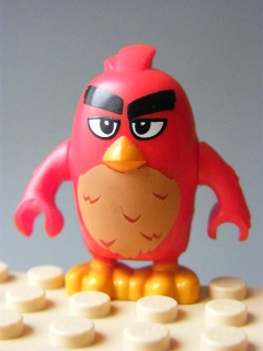 LEGO ANGRY BIRDS ang012 - Red (75824)