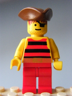 LEGO - Pirate Red 2