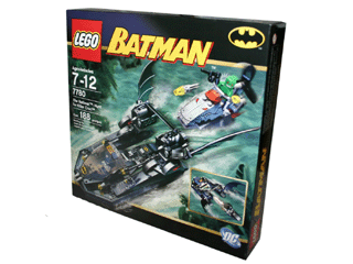 LEGO 7780 - The Batboat: Hunt for Killer Croc