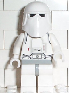 LEGO STAR WARS 101 - Snowtrooper, Light Gray Hips, White Hands