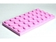 LEGO 3035 - Bright Pink Plate 4 x 8