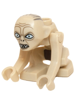 LEGO Hobbit and Lord of the Rings 031 - Gollum - Narrow Eyes