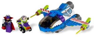 LEGO SET 7593 - Buzz's Star Command Spaceship