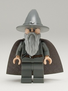 LEGO Hobbit and Lord of the Rings - Gandalf the Grey - Wizard / Witch Hat