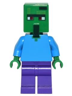 LEGO MINECRAFT 030 - Zombie Villager