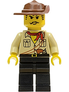 LEGO adv010 - Johnny Thunder