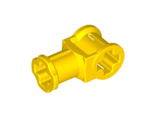 LEGO 32039 - Yellow Technic, Axle Connector with Axle Hole