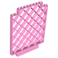 LEGO 6165 - Bright Pink Belville Wall, Lattice 12 x 1 x 12 Square