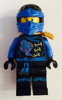 LEGO NINJAGO njo248 - LegoJay - Skybound, Dual Sided Head (70594)